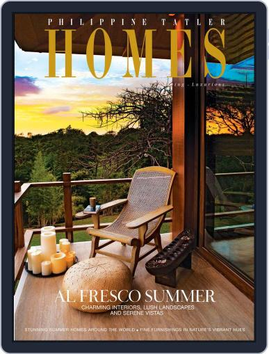 Philippine Tatler Homes (Digital) March 18th, 2016 Issue Cover