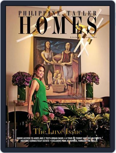 Philippine Tatler Homes (Digital) November 17th, 2017 Issue Cover