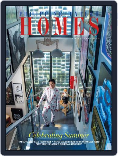 Philippine Tatler Homes (Digital) March 9th, 2018 Issue Cover