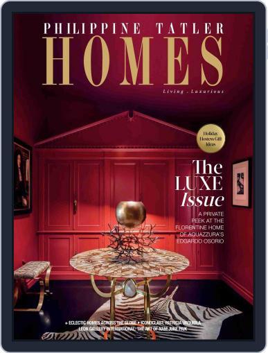 Philippine Tatler Homes (Digital) November 9th, 2018 Issue Cover