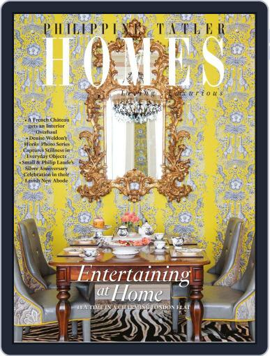 Philippine Tatler Homes (Digital) July 8th, 2019 Issue Cover