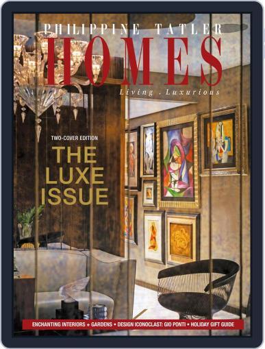 Philippine Tatler Homes (Digital) December 9th, 2019 Issue Cover