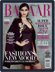 Harper's Bazaar India (Digital) Subscription September 11th, 2013 Issue