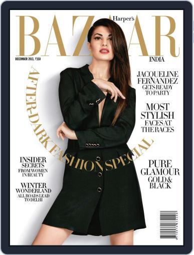 Harper's Bazaar India December 11th, 2013 Digital Back Issue Cover