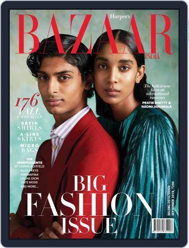 Harper's Bazaar India September 1st, 2019 Digital Back Issue Cover