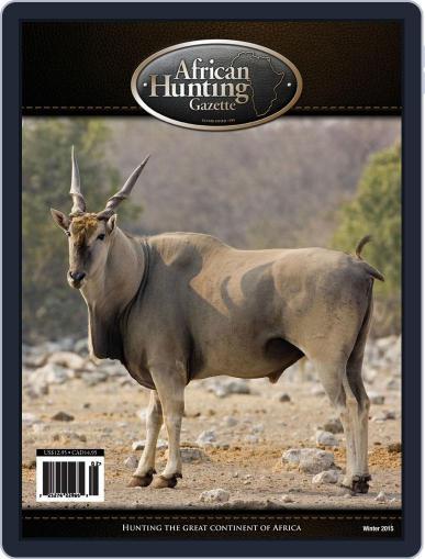 African Hunting Gazette (Digital) December 1st, 2015 Issue Cover