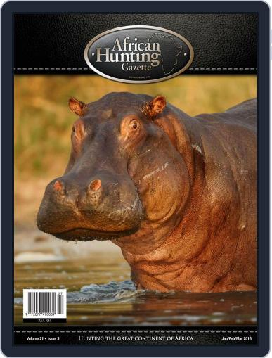 African Hunting Gazette (Digital) February 2nd, 2016 Issue Cover