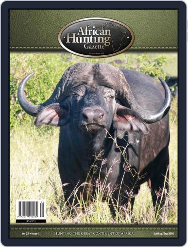African Hunting Gazette (Digital) May 2nd, 2016 Issue Cover