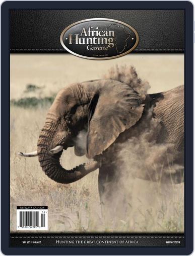 African Hunting Gazette (Digital) November 1st, 2016 Issue Cover