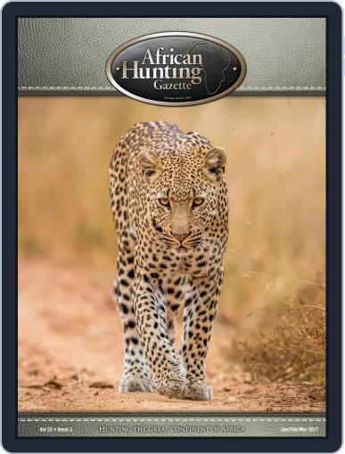 African Hunting Gazette (Digital) January 1st, 2017 Issue Cover