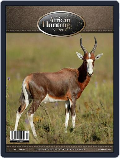 African Hunting Gazette (Digital) July 1st, 2017 Issue Cover