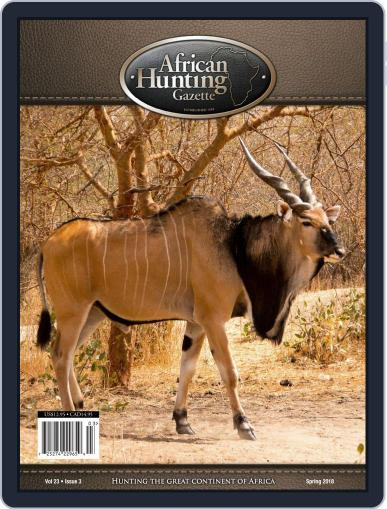 African Hunting Gazette (Digital) January 1st, 2018 Issue Cover