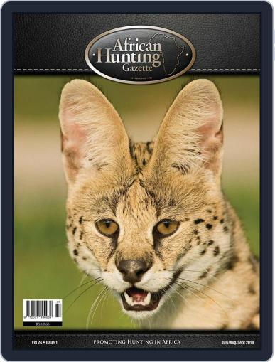 African Hunting Gazette (Digital) July 1st, 2018 Issue Cover