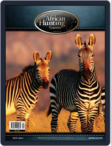 African Hunting Gazette (Digital) April 1st, 2019 Issue Cover