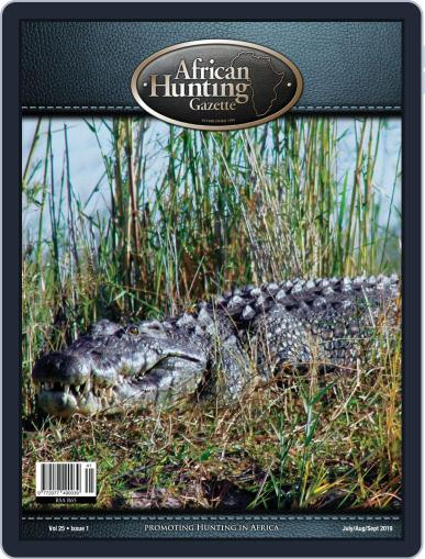 African Hunting Gazette (Digital) July 1st, 2019 Issue Cover