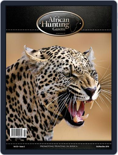 African Hunting Gazette (Digital) October 1st, 2019 Issue Cover