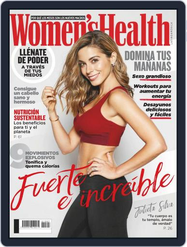 Women's Health México July 1st, 2019 Digital Back Issue Cover