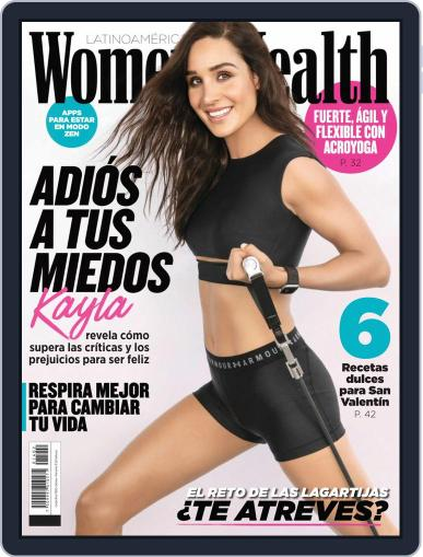 Women's Health México February 1st, 2020 Digital Back Issue Cover