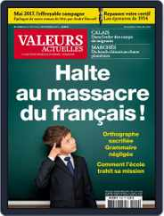 Valeurs Actuelles (Digital) Subscription August 26th, 2015 Issue