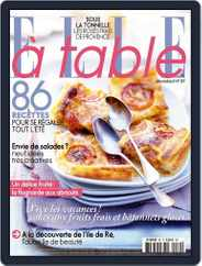 ELLE à Table (Digital) Subscription July 3rd, 2013 Issue
