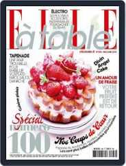 ELLE à Table (Digital) Subscription April 29th, 2015 Issue