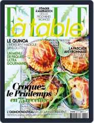 ELLE à Table (Digital) Subscription March 3rd, 2016 Issue