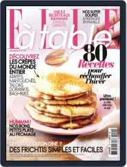 ELLE à Table (Digital) Subscription January 1st, 2017 Issue