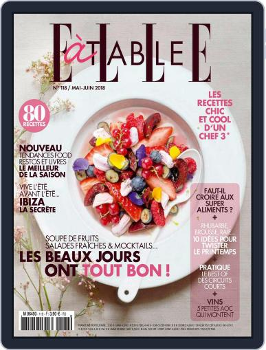 ELLE à Table May 1st, 2018 Digital Back Issue Cover