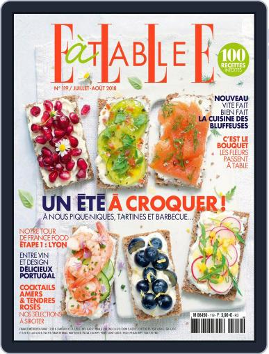 ELLE à Table July 1st, 2018 Digital Back Issue Cover