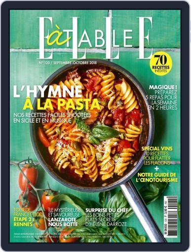 ELLE à Table September 1st, 2018 Digital Back Issue Cover