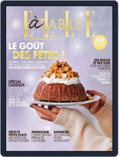 ELLE à Table November 1st, 2018 Digital Back Issue Cover