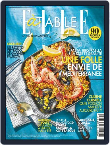 ELLE à Table July 1st, 2019 Digital Back Issue Cover