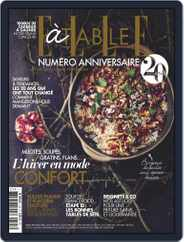 ELLE à Table (Digital) Subscription January 1st, 2020 Issue