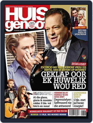 Huisgenoot (Digital) October 13th, 2010 Issue Cover
