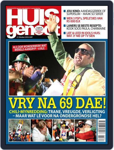 Huisgenoot (Digital) October 15th, 2010 Issue Cover