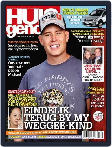 Huisgenoot (Digital) November 11th, 2010 Issue Cover