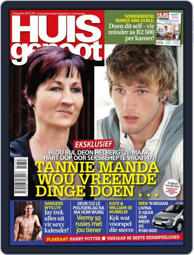 Huisgenoot (Digital) November 25th, 2010 Issue Cover