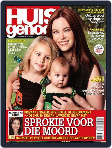 Huisgenoot (Digital) December 15th, 2010 Issue Cover