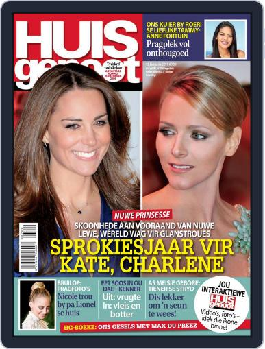 Huisgenoot (Digital) January 6th, 2011 Issue Cover