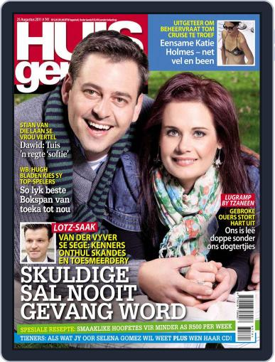 Huisgenoot (Digital) August 18th, 2011 Issue Cover