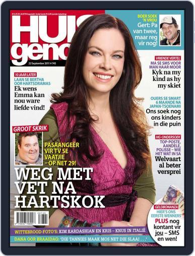 Huisgenoot (Digital) September 15th, 2011 Issue Cover