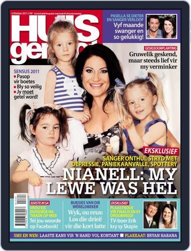 Huisgenoot (Digital) September 29th, 2011 Issue Cover