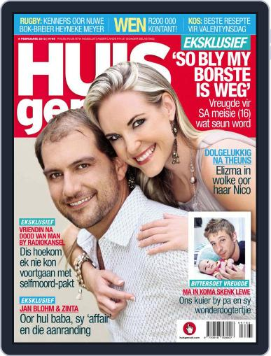 Huisgenoot (Digital) February 2nd, 2012 Issue Cover
