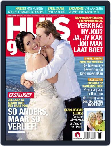Huisgenoot (Digital) February 9th, 2012 Issue Cover