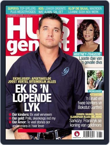 Huisgenoot (Digital) February 16th, 2012 Issue Cover