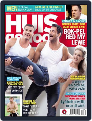 Huisgenoot (Digital) March 1st, 2012 Issue Cover