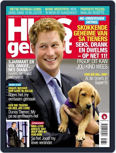 Huisgenoot (Digital) March 22nd, 2012 Issue Cover