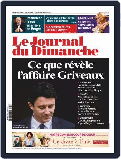 Le Journal du dimanche February 16th, 2020 Digital Back Issue Cover
