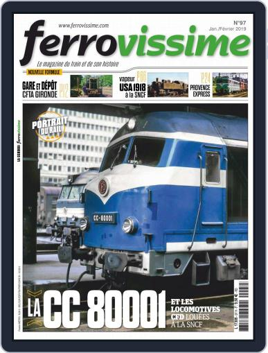 Ferrovissime January 1st, 2019 Digital Back Issue Cover