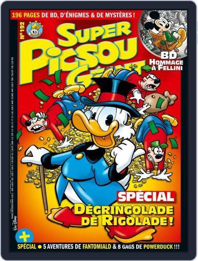 Super Picsou Géant (Digital) February 10th, 2016 Issue Cover